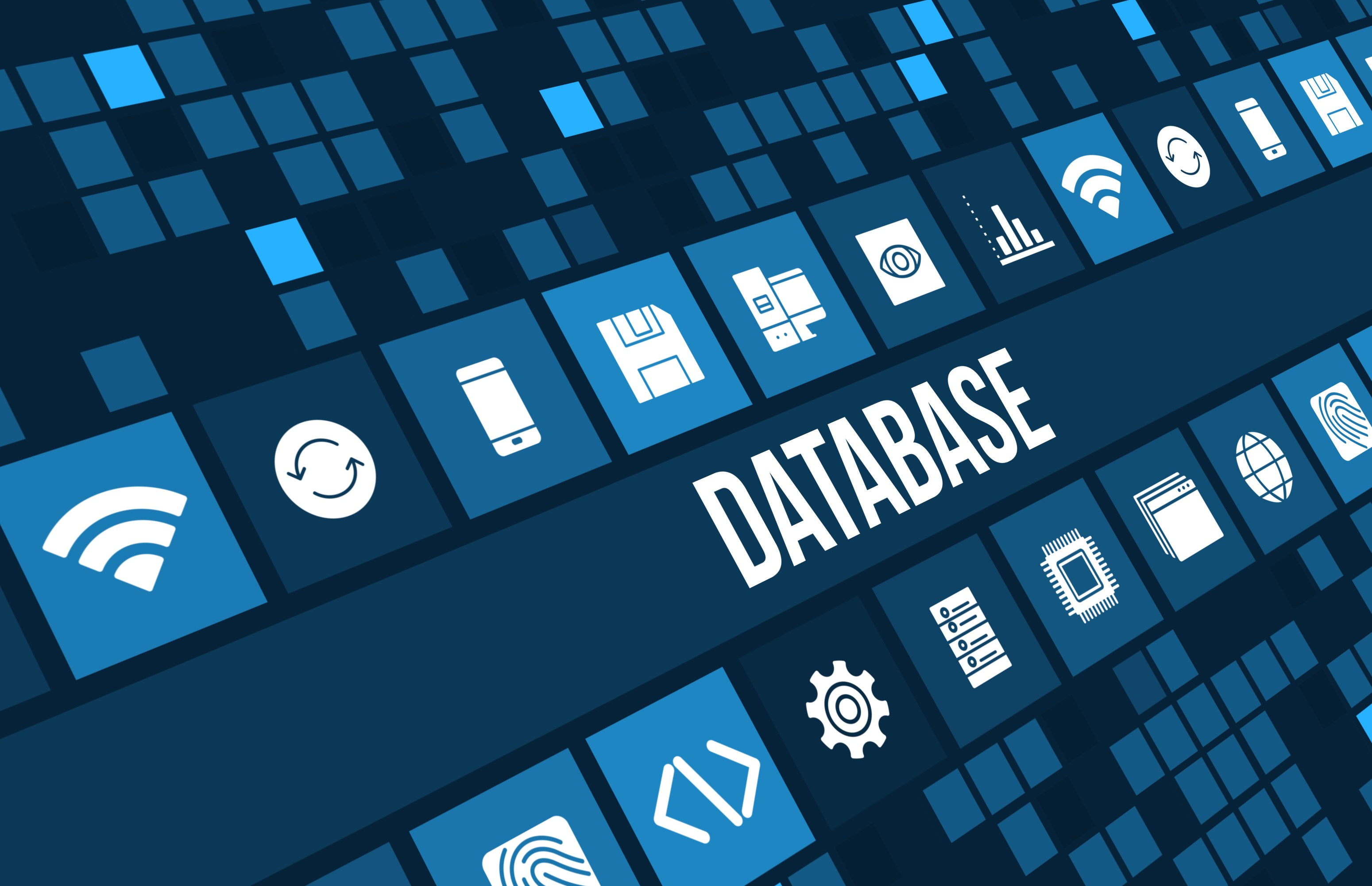 Database with different information